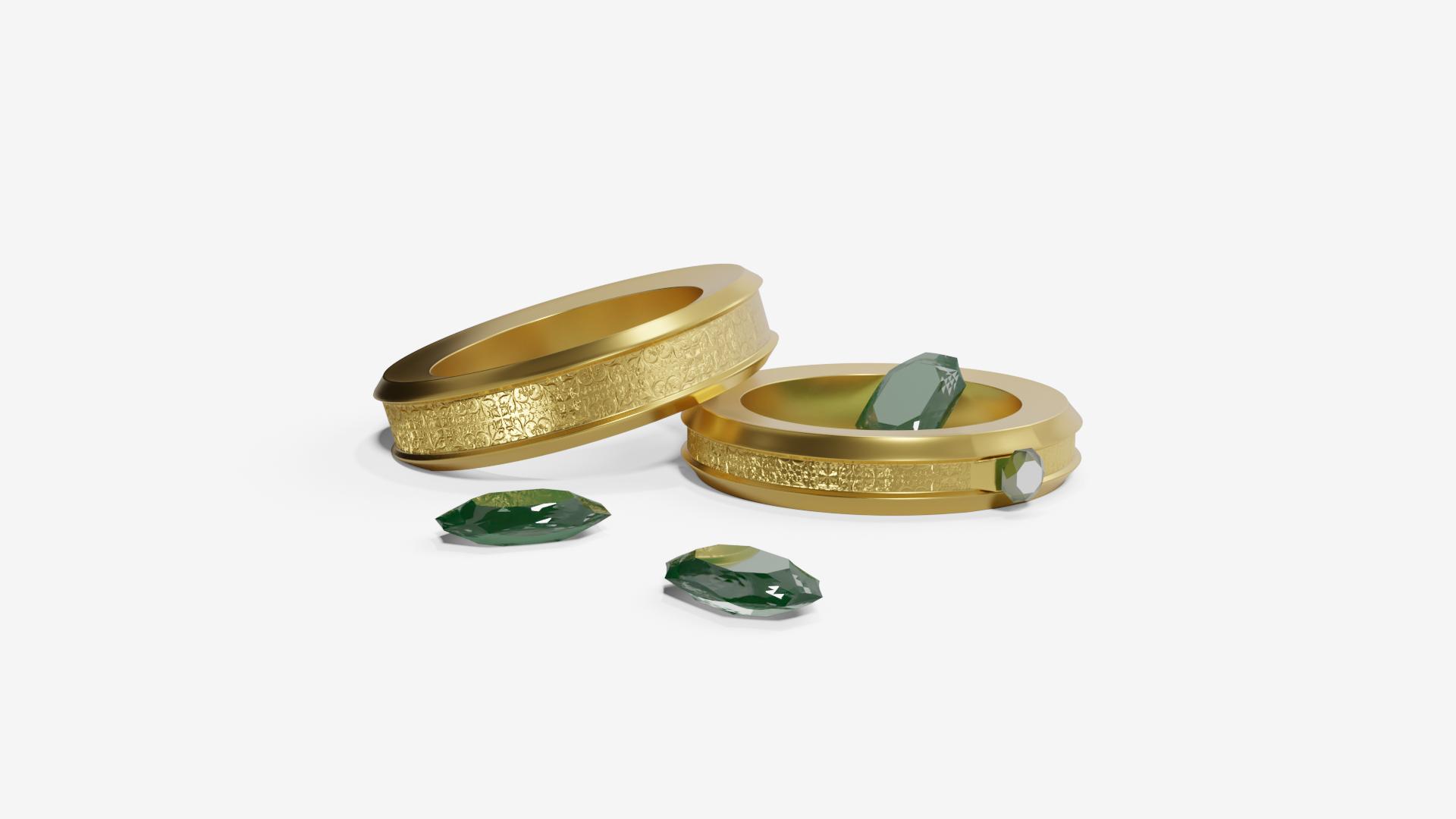 OnzeClip-Smaragd